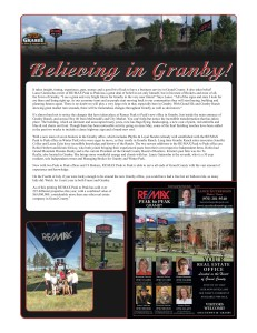 believing in granby
